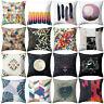Sun Moon Math Symbol Eye Throw Pillow Case Cushion Cover Sofa Home Decor Sightly