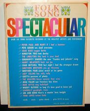 Folk Song Spectacular: Over 101 Song Favorites... Hollis Music, n.d. PB