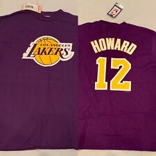 NEW Majestic Youth Los Angeles Lakers Shirt DWIGHT HOWARD Youth Medium M NWT