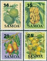 Samoa 1983 SG655-658 Fruit MNH