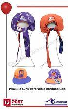 Phoenix Suns NBA Basketball Vintage 90's Reversible Bandana Cap Unisex BNW0T