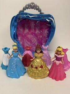 Disney Princess Little Kingdom Cinderella & Princesses MagiClip Dress W/Bag