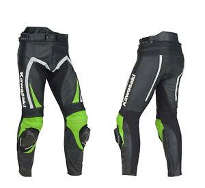 MOTOGP Motorcycle Biker Leather Trouser Racing Motorbike Mens Leather Pants