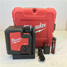 Milwaukee Green 100 ft. 3-Point Rechargeable Laser Level