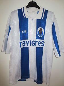 VINTAGE Maillot FC PORTO Revigres jersey oldschool trikot Monteverde XL