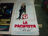 Die Pazifist Plakat Original 1971 Monica Vitti