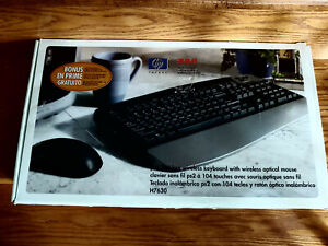 HP wireless Keyboard  an Mouse   ps/2 RCA H7630