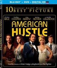 New: AMERICAN HUSTLE (Christian Bale,Jennifer Lawrence) BLU-RAY+DVD+DIGITAL HD