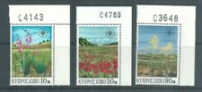 CYPRUS STAMPS FLOWERS 1970 UNMOUNTED MINT WITH NUMBERS