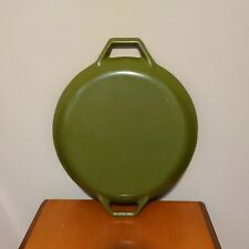 Mcm Copco Olive Green Cast Iron Dutch Oven Round Denmark Lid Only 9.5�