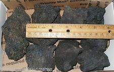 One Box Denitrifying Aquarium Black Lava Rocks Caves Small Flat Rate Box Full