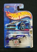 Hot Wheels 2004 First Editions Madd Propz #076 (Blue) (Damaged Card)