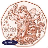 Pièce 5 euros commémorative AUTRICHE 2019 - Le Nouvel An - UNC - Cuivre 999‰