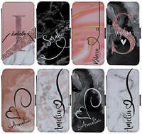 PERSONALISED INITIALS/NAME MARBLE PHONE CASE FOR APPLE IPHONE X/XS IPHONE 11