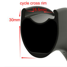 Cycle Cross Wheelset 30*27mm Carbon road bike wheel Tubeless Ready with disc hub
