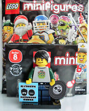 LEGO-MINIFIGURES SERIES X 1 DJ RECORD COVER FOR THE DJ FROM SERIES 8 PARTS 8