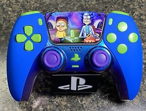 Rick and Morty Themed Ps5 PlayStation 5 Controller Sony DualSense Custom