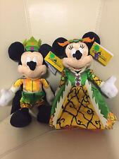 Mickey Minnie mouse halloween authentic Plush Hong Kong Disney Disneyland