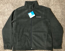 NWT Columbia Zip Up Jacket Size XL Charcoal Smoke Gray/Black $60
