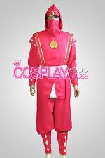 Mighty Morphin Power Rangers: The Movie -- Pink Ninjetti Ranger Cosplay Costume