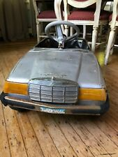 Vintage Mercedes Benz metal pedal child car