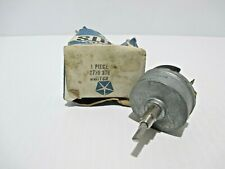 NOS PLYMOUTH CUDA DODGE CHALLENGER VARIABLE WINDSHIELD WIPER SWITCH 1966-1969