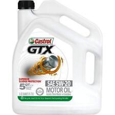 Castrol 03107 GTX 5W-20 Conventional Motor Oil - 5 Quart New