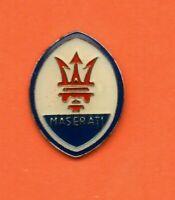 Pin's lapel pin pins Car Voiture LOGO EMBLEME MASERATI  EF+E  H: 22mm