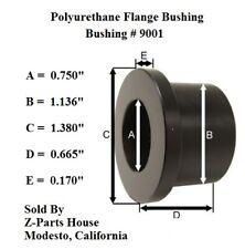 "9001G 1-1/8"" O.D. x 3/4"" I.D.  Polyurethane Flange Bushing by Energy Suspension"