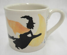Hartstone Starbucks Barista Halloween Mug Witch Blue Stars 14 oz Excellent