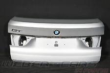 Orig BMW 5er F07 GT Heckklappe unten Kofferraumdeckel Kofferraum Titansilber 354