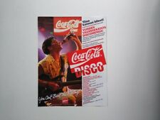 Coca Cola Coke Disco ad clipping Finland You Can't Beat The Feeling