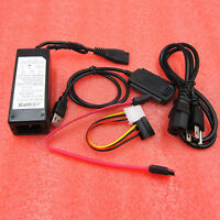 SATA/PATA/IDE Drive to USB 2.0 Adapter Converter Cable 2.5 / 3.5 Inch Hard Drive
