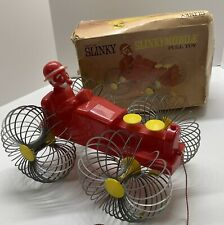 c1957 RARE Slinky Mobile No. 600 Rolling Pull Toy w Box James Paoli PA