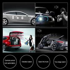 2 Door Car Alarm System Security Remote For Vehicle Auto New + Shock Sensor W3E7