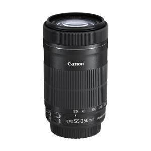 Obiettivo Compatto Canon EF-S 55-250 mm f/4-5.6 55-250mm IS STM Scatola Bianca
