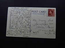 Postcard United Kingdom Gregory Arch Nassau Bahamas to New York USA 1928