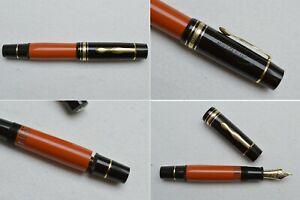 Montblanc Writers Limited Edition Ernest Hemingway Fountain Pen 18K F Fine Nib