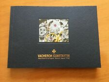 VACHERON CONSTANTIN WATCH COLLECTION 2006-2007 SOFT COVER BOOK - BRAND NEW