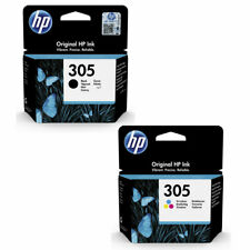 HP305 Black & Colour Original HP Printer Ink Cartridges 3YM61AE 3YM60AE