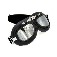 Aviator Pilot Motorcycle Scooter Goggles ATV Off Road For Harley Cruiser Biker
