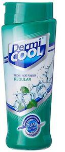 Dermi Cool Talc Prickly Heat Regular Powder Keep Body Cool - 150 Gram