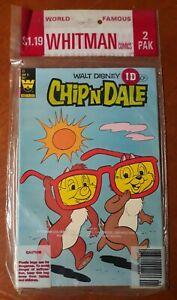 Whitman Sealed Packs Chip 'n' Dale #77 Super Goof #69 1982