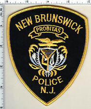 New Brunswick Police (New Jersey) Shoulder Patch from 1991