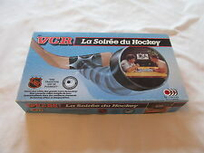1987 JEU VCR LA SOIREE DU HOCKEY LNH VHS CANADA GAMES GAME FRANCAIS FRENCH