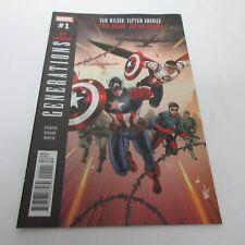 Marvel Generations: Sam Wilson & Steve Rogers Captain America #1 NM