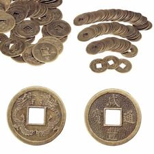 100PCS Feng Shui Chinese Oriental Emperor Ancient Money Coin Luck Fortune Wealth
