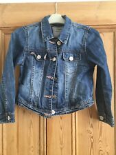 NEXT Girls Denim Jacket Aged 5-6 Years
