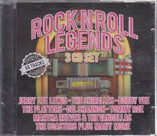New CD - Various - Rock N Roll Legends - 3CD Set - 66 tracks