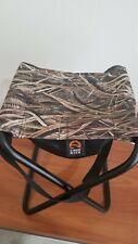 Mossy Oak Field Hunting Stool Folding Seat W/ Storage Bag&Carry Strap